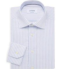 contemporary-fit striped dress shirt