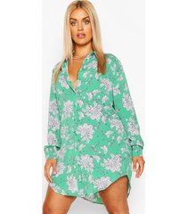 blousejurk met paisley-print, groen