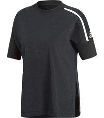 camiseta manga corta de mujer lifestyle adidas w zne tee