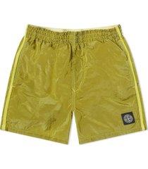 stone island junior shorts w/pocket on back