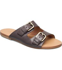 leslie shoes summer shoes flat sandals brun rabens sal r