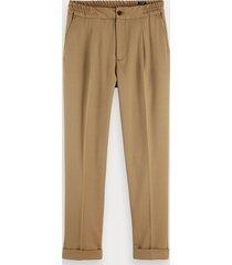 scotch & soda blake - wool blend trousers regular slim fit