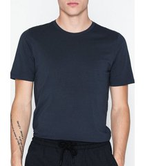 jack & jones jjeorganic basic tee ss o-neck noos t-shirts & linnen mörk blå