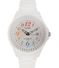 reloj blanco casio