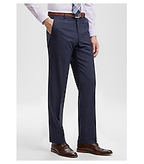 reserve collection slim fit flat front dress pants by jos. a. bank