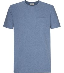 profuomo t-shirt blauw regular fit ppst1c0006/m