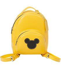 mini plecak maliv żółty