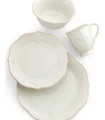 lenox french perle charm 4-piece place setting