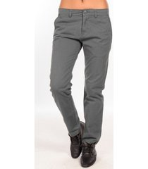 chino broek charlie joe pantalon gris waine long pant