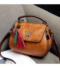 secchiello nappa vintage borsa spalla borsa per donna