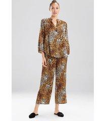 animale pajamas, women's, gold, size m, n natori