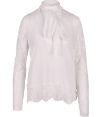 faith connexion silk blouse