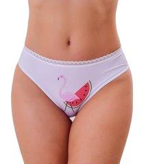 calcinha vip lingerie flamingo - vermelho - kanui