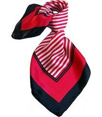 pañuelo bandana náutico rojo viva felicia