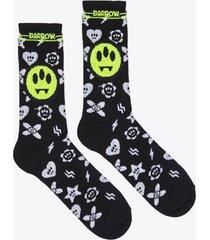 barrow pattern print socks