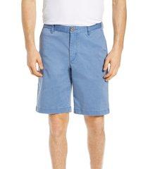 men's big & tall tommy bahama boracay chino shorts, size 46r - blue