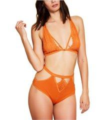 hauty cutout high waist brief underwear, online only