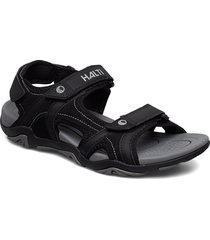 aledo men's sandal shoes summer shoes svart halti