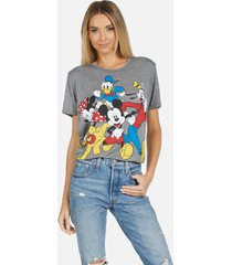 capri mickey crew - heather grey xl