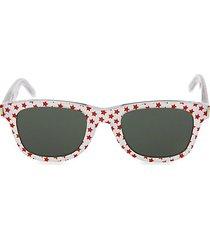 star 50mm square sunglasses