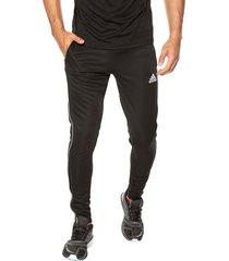 pantalón negro-blanco adidas performance core 18 tr pnt