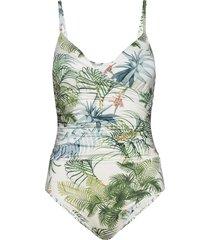 swim suit emma baddräkt badkläder multi/mönstrad lindex