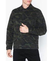 selected homme slhdaniel jacket w jackor mörk grön