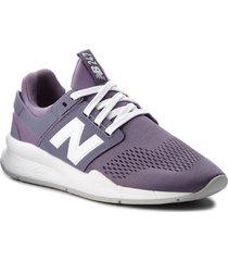 zapatilla violeta new balance ws247uj