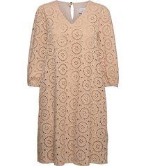 nucai dress knälång klänning brun nümph