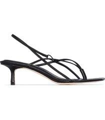 studio amelia 2.6 50mm thong-strap sandals - black