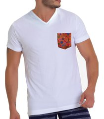 camiseta colombia cuello v cht