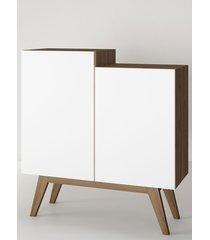 aparador buffet/bar modern branco estilare móveis