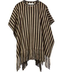 saint laurent capes & ponchos