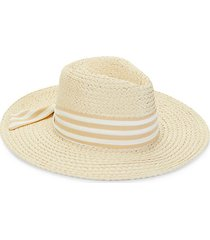 striped ribbon hat