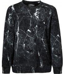 bluza męska marmur czarna
