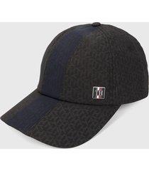 gorra negro-azul tommy hilfiger