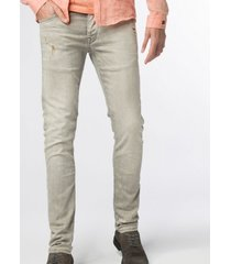 cast iron riser slim fit jeans