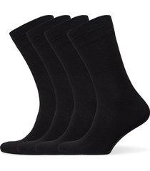 bamboo crew sock 4-pack underwear socks regular socks svart amanda christensen