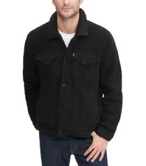 levi's men's all-over sherpa trucker jacket