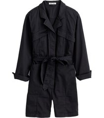 expedition short jumpsuit in black