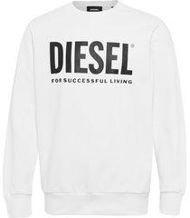 s-gir-division-logo sweat-shirt sweat-shirt trui wit diesel men
