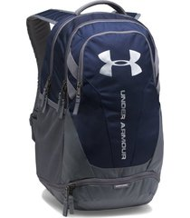 morral under armour hustle 3.0-azul/gris