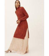 sweter z mieszanki wełny alpaki