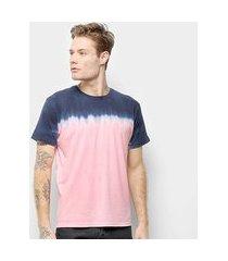 camiseta energia natural tie dye feminina