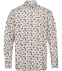 poplin- contemporary skjorta business beige eton