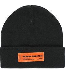 heron preston beanie hat
