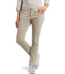 pantalon mujer streamline skinny khaki-coffee kuhl