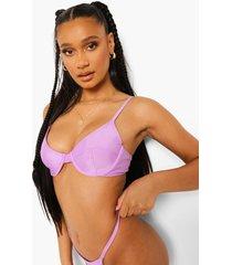essentials bikini top met beugel, bright lilac