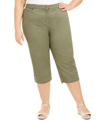 karen scott plus size capri pants, created for macy's