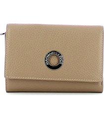 mandarina duck womens brown wallet
